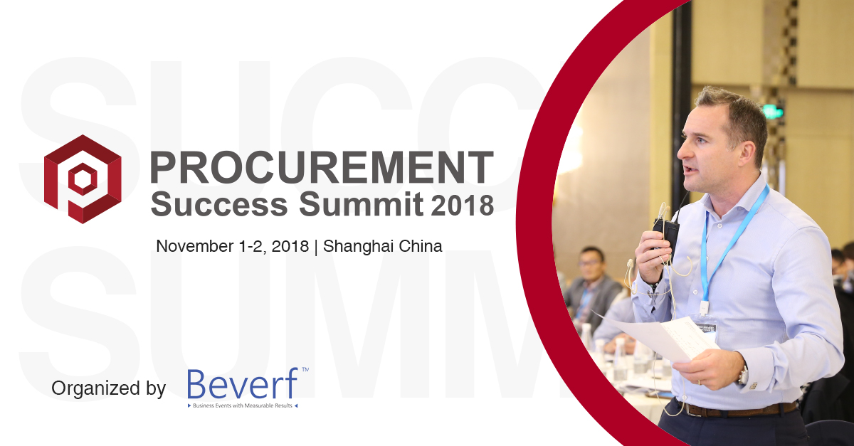 5th Annual Procurement Success Summit 2018 Banner