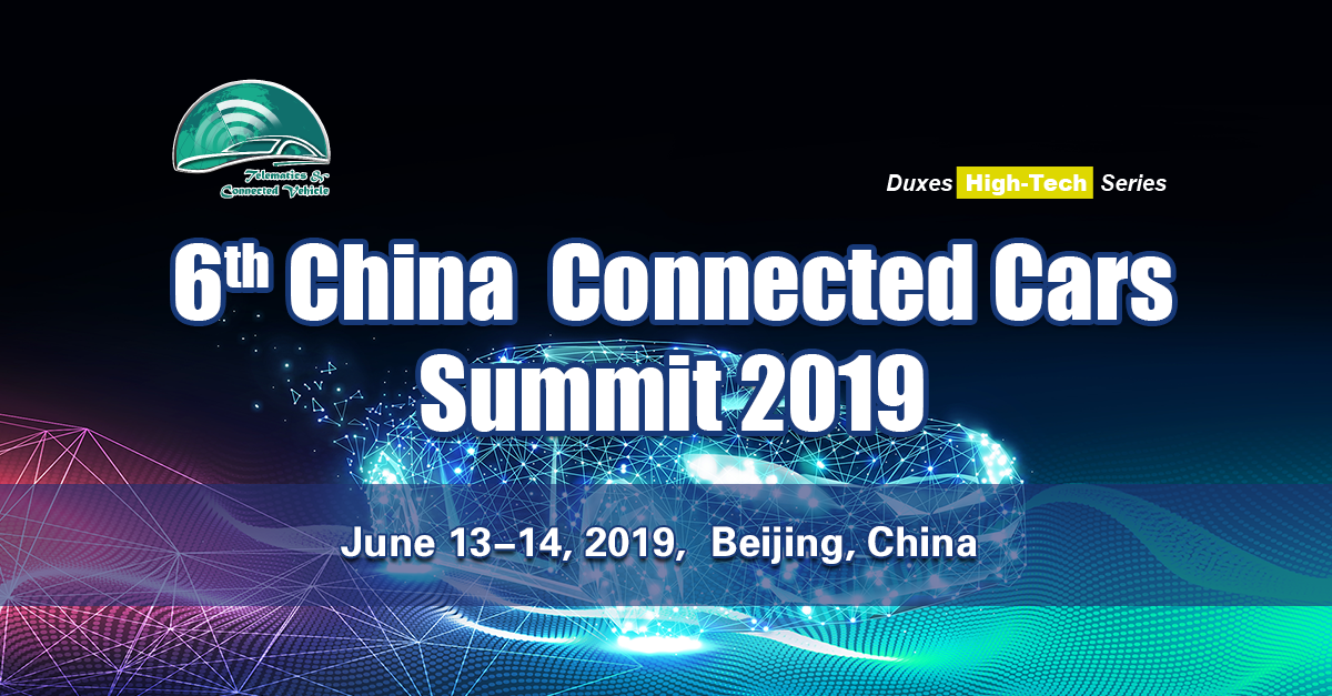 China Connected Cars Summit Event Banner