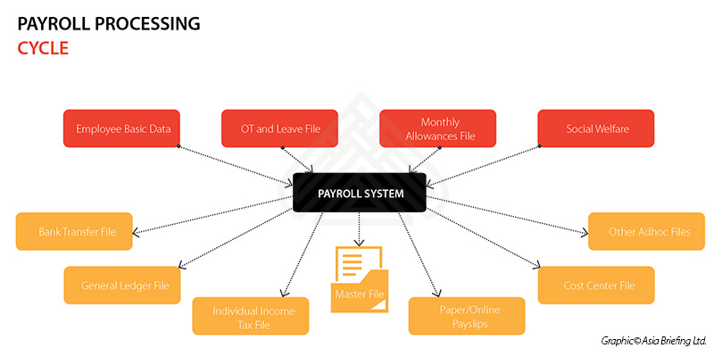 Diagram Showing Data Processing Cycle Schematic Diagrams