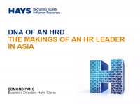 DNA of an HRD: The Makings of an HR Leader in Asia