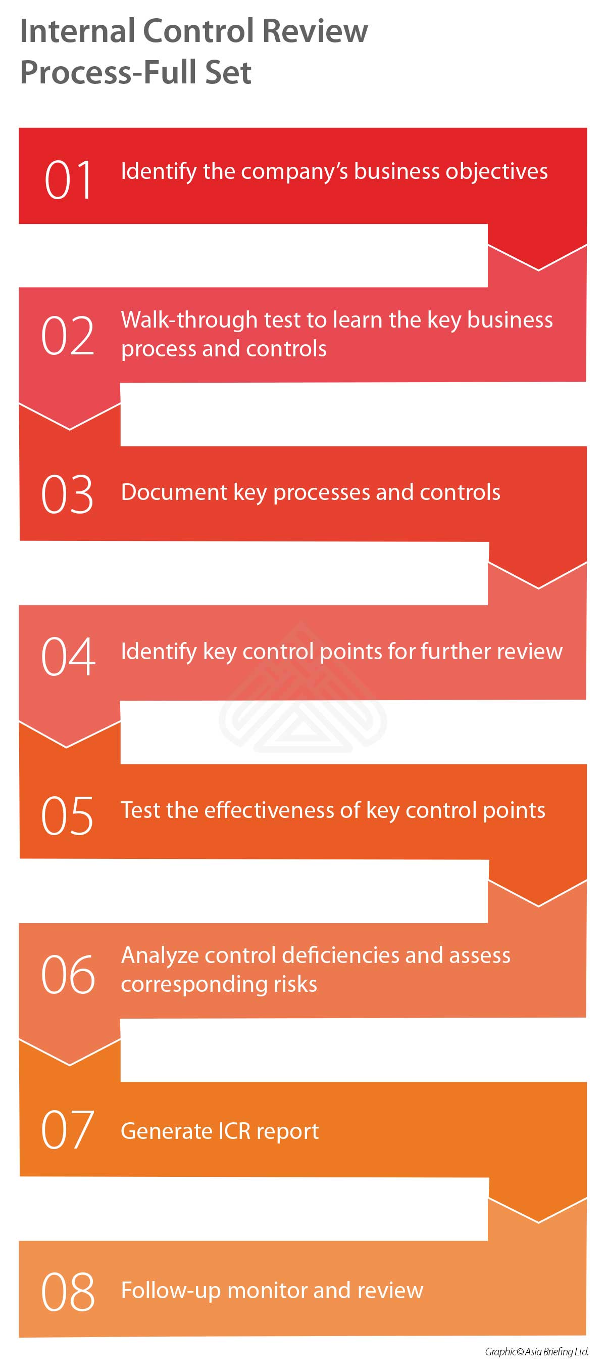 Internal Control Review Process - China