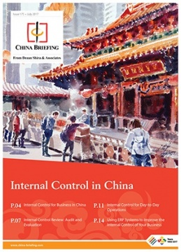 Internal Control in China cover