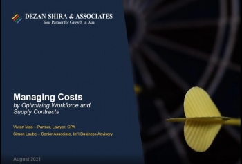 How to Manage Costs by Optimizing Your Supply Contracts and Workforce