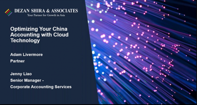 Optimizing Your China Accounting with Cloud Technology