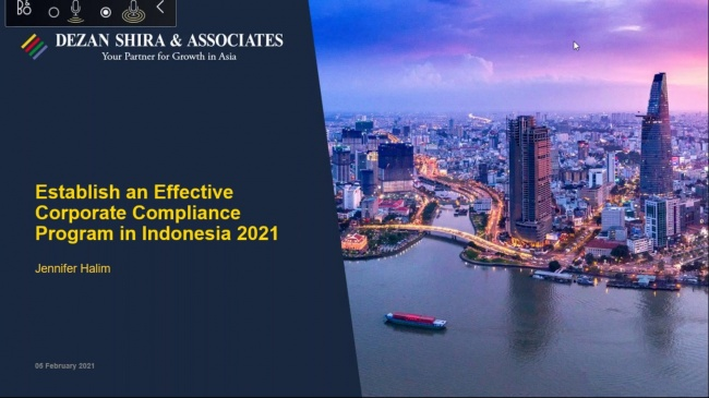 Establishing an Effective Corporate Compliance Program in Indonesia in 2021
