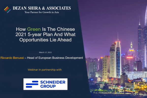 How Green is the Chinese 2021 5-Year Plan and What Opportunities Lie Ahead