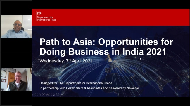 Path to Asia: Opportunities for Doing Business in India 2021