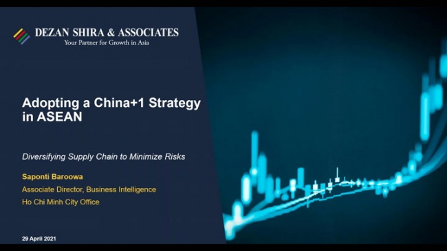 Adopting a China+1 Strategy in ASEAN: Diversifying Supply Chains to Minimize Ris...