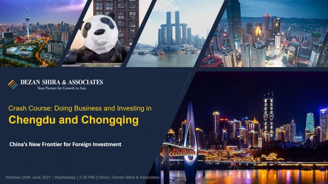 Crash Course on Doing Business in Chengdu & Chongqing: China's New Frontier for ...