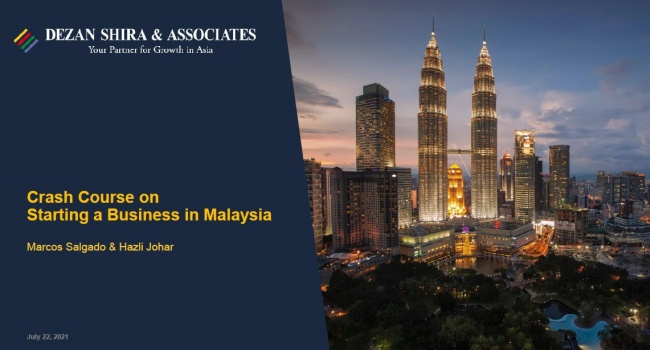 Crash Course on Starting a Business in Malaysia