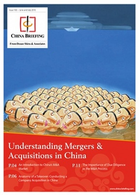 Understanding Mergers & Acquisitions in China