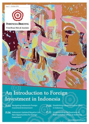 An Introduction to Foreign Investment in Indonesia