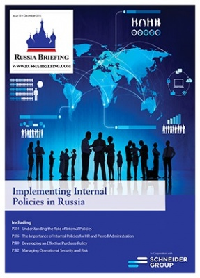 Implementing Internal Policies in Russia