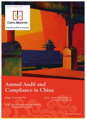 Annual Audit and Compliance in China