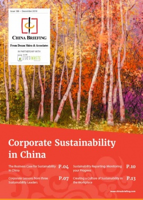 Corporate Sustainability in China