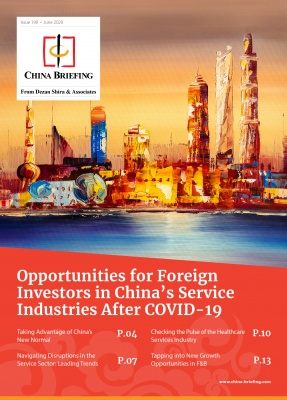 Opportunities for Foreign Investors in China's Service Industries After COVID-...