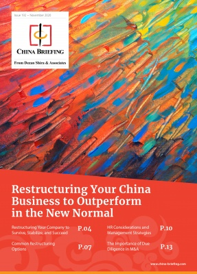 Restructuring Your China Business to Outperform in the New Normal