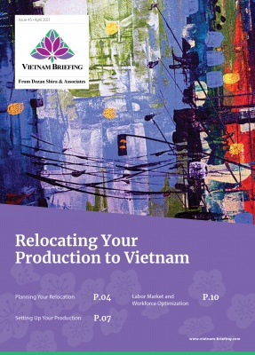 Relocating Your Production to Vietnam