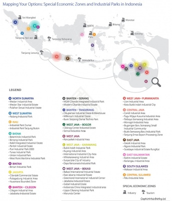 Mapping Your Options: Special Economic Zones and Industrial Parks in Indonesia